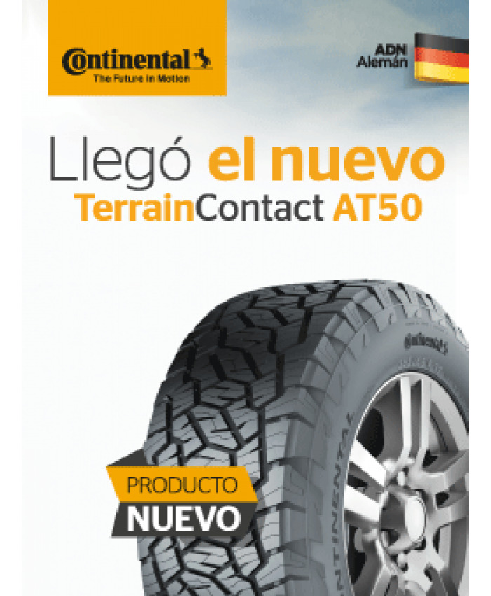 235/75R15 CONTINENTAL TERRACAN AT50