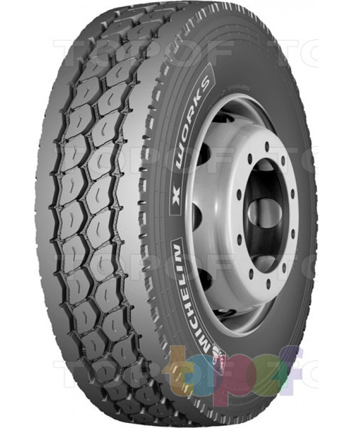12R22.5 MICHELIN XZY WORKS